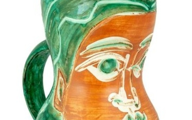 "Picasso Pitcher, ""Lady's Face"" (A.R. 192)"