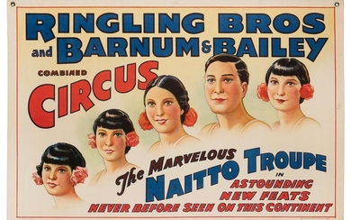 Ringling Brothers and Barnum & Bailey. Naitto Troupe.