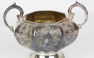 Victorian Silver bowl. Hallmarked London 1845 by John & Henr...