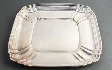 "Wallace Sterling Silver ""Chippendale"" Square Tray"