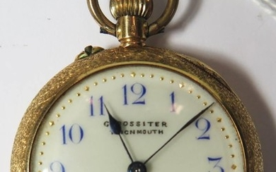 18K Gold Ladies Keyless Fob Watch retailed by G. Rossiter of...