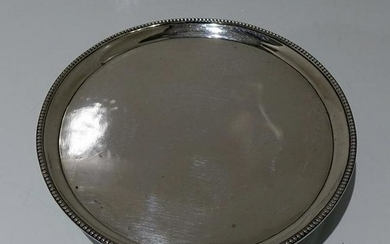 18th Century Antique George III Sterling Silver Salver