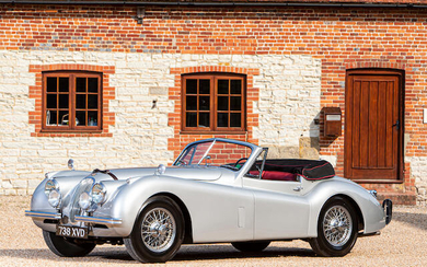 1954 Jaguar XK120 SE Drophead Coupé, Registration no. 738 XVD Chassis no. S678338