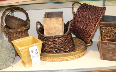 (7) Planters and Baskets