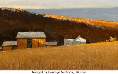 76040: Eric Sloane (American, 1905-1985) Autumn Sunset