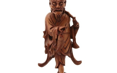 A Carved Wood Sculpture