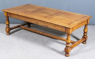"A Modern Oak Rectangular Coffee Table of ""17th Century""..."
