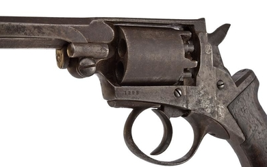 A RARE ADAMS / MASS. ARMS PERCUSSION REVOLVER