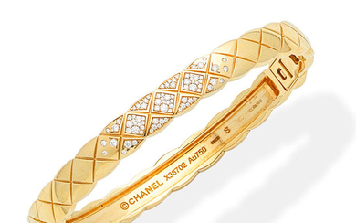 A diamond 'Coco Crush' bangle, by