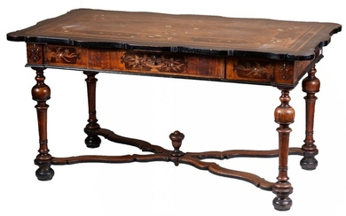 A late 18th-Century Italian centre table with rich...
