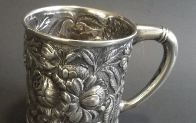 Antique Victorian Sterling Silver Cup, Gorham 1888