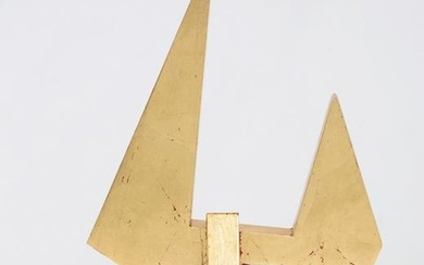 Betty Gold, gold leaf and wood construction