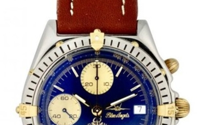 Breitling, Stainless Steel Chronograph Wristwatch