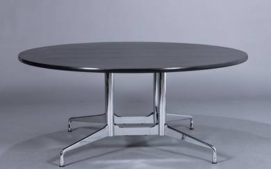Charles and Ray Eames. Round dining table/'Segmented Table', Ø 170 cm