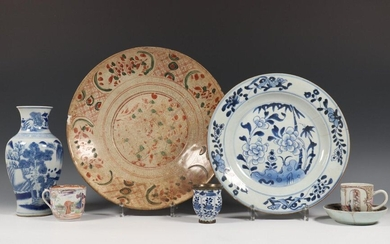 China, collection various porcelain, 16th-17th centuries and Qing...