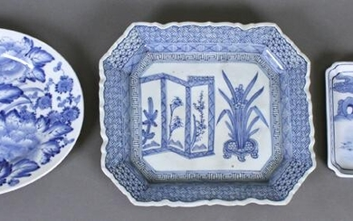 Chinese Blue & White Ware: Chargers (19th/ 20th