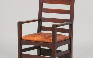 Early Gustav Stickley #1297A Armchair c1902