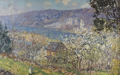 Edward Willis Redfield (American, 1869–1965) Spring at Point Pleasant...