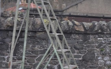 French Chateaux ladders - used at a french Chateaux for clea...