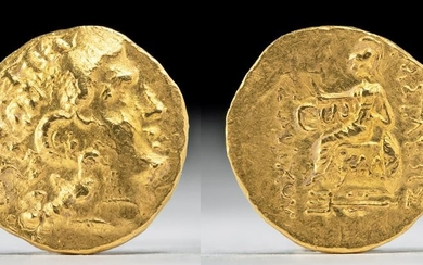 Greek / Thracian Kingdom Gold Stater of Lysimachus