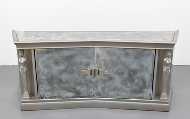 James Mont Mirrored Cabinet