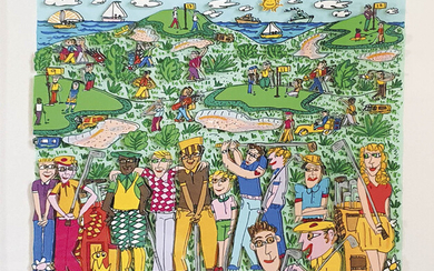 James Rizzi (New York 1950 – 2011) Different Strokes for Different Folks,...
