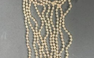 Ladies Five Strand Necklace