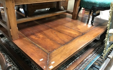 Large Square Form Coffee table