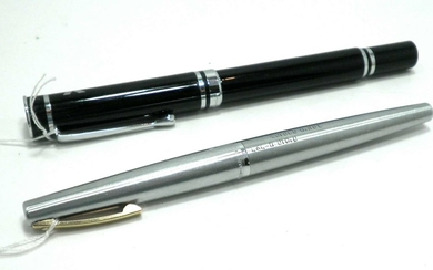 Lot 2 fountain pens: Sheaffer and Pierre Cardin