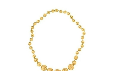 Marco Bicego Africa Yellow Gold Ball Necklace CB1329 Y