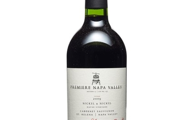 Nickel & Nickel, Hayne Vineyard Cabernet Sauvignon 2009, Premiere Napa Valley Premiere Napa Valley offers limited edition, small production (60-240 bottles produced), one-of-a-kind cuvées from top tier California producers. The winemakers utilize this...