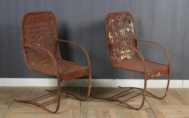 Pair Spring Chairs