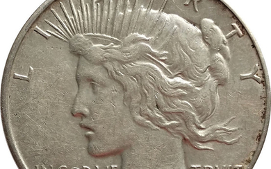 Piece Dollar 1934, United States, Scarce Date, Silver