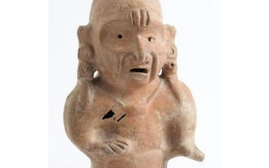 Pre-Columbian Figural Pottery Effigy