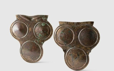 SAMNITE TRIPLE-DISC CUIRASS SOUTH-CENTRAL ITALY, 420