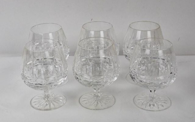 "Set of 6 Waterford ""Kylemore"" Brandy Snifters"