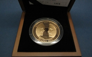 The Royal Mint Gold Proof Five Pounds Coin 2011 'The Royal W...