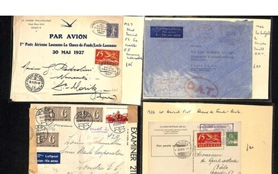 1924-47 Covers and cards, various commercial and first fligh...