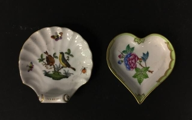 2 Pieces of Herend Porcelain