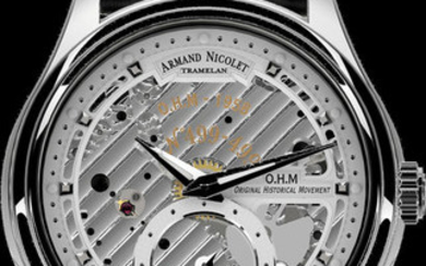 Armand Nicolet - L14 Small Second -Limited Edition- - A750AAA-AG-P713NR2 - official dealer - Men - 2011-present