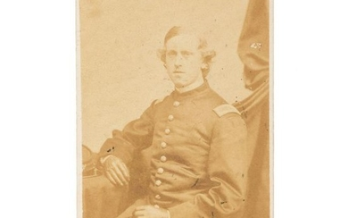 1st Lieutenant Edward L. Stevens, 54th Massachusetts