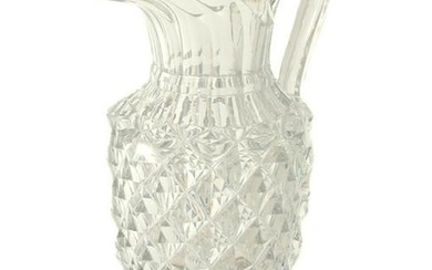 AN IMPERIAL RUSSIAN GLASS FACTORY PITCHER, 1820