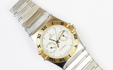 An Omega Constellation stainless steel wristwatch, the circu...