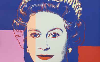 Andy Warhol, Queen Elizabeth II of the United Kingdom, from Reigning Queens (Royal Edition) (F & S. 337A)