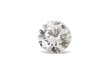 Brilliant-cut diamond of approximately 0.90 carat on paper...