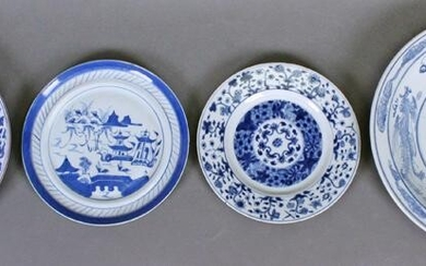 Chinese Blue & White Ware: Plates (18th – 20th