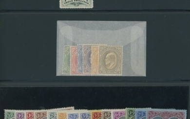 Collections and Ranges A selection of mint and used sets and single stamps from across the Bri...
