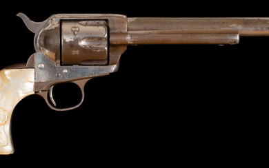Colt Single Action Army Revolver and Collins Rig