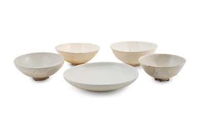 Five Chinese Ceramic Bowls