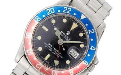 Gentleman's Rolex Stainless Steel 'GMT' Wristwatch, Ref. 1675